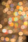 Bokeh coloré de lumière Images libres de droits