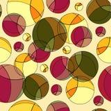 Bokeh coloré par vecteur sans couture lumineux Photos stock