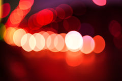 Bokeh color abstract background with defocused lights Stock Photography