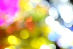 Bokeh color background Stock Photography