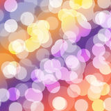 Bokeh color background Royalty Free Stock Images