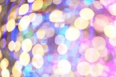 Bokeh color full Stock Image