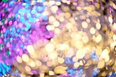 Bokeh color full Stock Photos