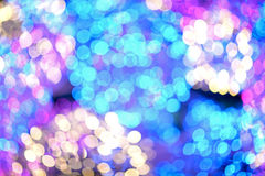 Bokeh color full Stock Photography