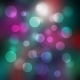 Bokeh colorful on abstract background Stock Photos