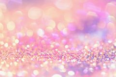 Bokeh colorful blurred abstract background for birthday, anniversary, wedding, new year eve or christmas Stock Photo