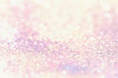 Bokeh colorful blurred abstract background for birthday, anniversary, wedding, new year eve or christmas Royalty Free Stock Photography