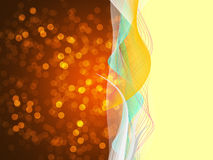 Bokeh   Colorful elegant on abstract background Royalty Free Stock Images