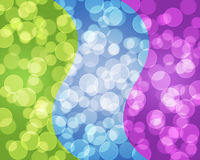 Bokeh   Colorful elegant on abstract background Stock Images