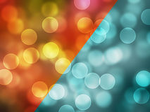 Bokeh  Colorful elegant on abstract background Royalty Free Stock Photos