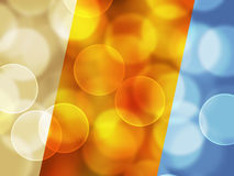 Bokeh Colorful elegant on abstract background vector illustration