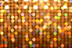 Bokeh colorful lights abstract blur background Stock Image