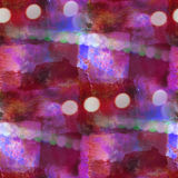 Bokeh colorful pattern water texture paint abstract seamless pur Royalty Free Stock Images