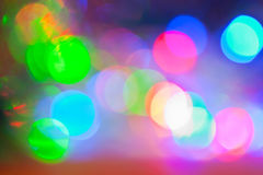 Bokeh in colorful tones Stock Photo
