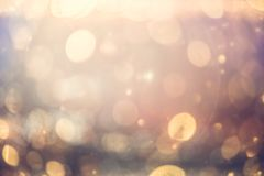 Bokeh Colorfull Blurred abstract background for birthday, annive. Rsary, wedding, new year eve or Christmas Royalty Free Stock Images