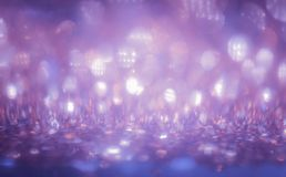 Bokeh Colorfull Blurred abstract background for birthday, annive. Rsary, wedding, new year eve or Christmas Royalty Free Stock Photo