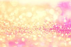 Bokeh Colorfull Blurred abstract background for birthday, anniversary, wedding, new year eve or Christmas.  Stock Images