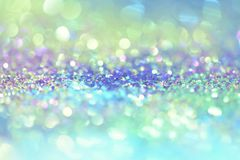 Bokeh Colorfull Blurred abstract background for birthday, anniversary, wedding, new year eve or Christmas.  Royalty Free Stock Photos