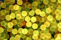 Bokeh colorido Imagen de archivo