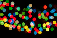Bokeh colorido Foto de Stock Royalty Free