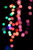 Bokeh colorido Fotografia de Stock