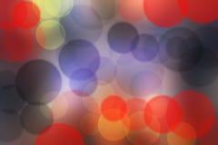 Bokeh colorido borroso Imágenes de archivo libres de regalías