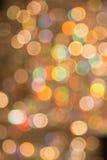 Bokeh colorido de la luz Imágenes de archivo libres de regalías