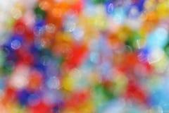 Bokeh colorido festivo imagens de stock