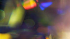 bokeh colorido fora da textura do foco vídeos de arquivo