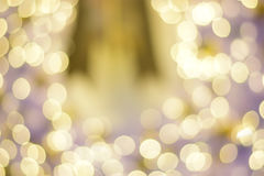 Bokeh colorido fundo abstrato borrado Conceito do partido do Natal e do ano novo Fotografia de Stock