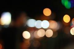 Bokeh colorido no close up Fotografia de Stock