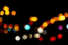 Bokeh com multi cores Fundo festivo do bokeh das luzes luzes defocused do bokeh Bokeh borrado Fundo do vintage da luz de Bokeh A imagem de stock