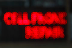 Bokeh conduziu luzes Imagens de Stock Royalty Free
