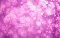 Bokeh cor-de-rosa Fotos de Stock