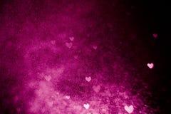 Bokeh cor-de-rosa Imagem de Stock