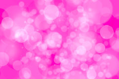 bokeh da luz branca no fundo cor-de-rosa Fotos de Stock