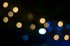 Bokeh da luz de Bokeh Fotos de Stock