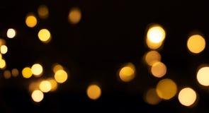 Bokeh das lanternas elétricas do diodo emissor de luz foto de stock