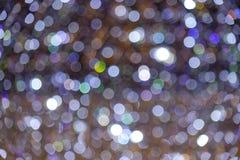 Bokeh de brilho do néon das luzes Imagens de Stock Royalty Free