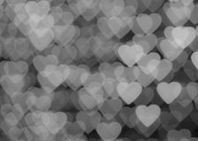 Bokeh de coeur Images stock