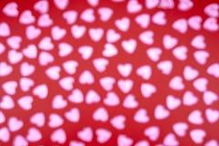 Bokeh de coeur Fond Bokeh photos libres de droits