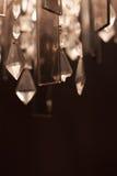 Bokeh de cristaux de fond Photographie stock libre de droits