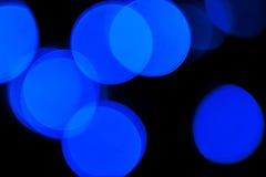 Bokeh de Defocussed de puntos ligeros Fotografía de archivo libre de regalías