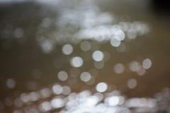 Bokeh de fond de l'eau Image libre de droits