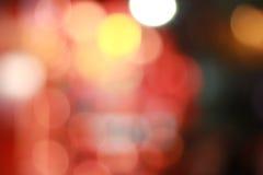 Bokeh de fond de lumière rouge Photographie stock libre de droits
