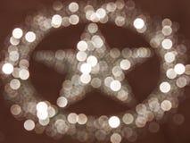 Bokeh de la estrella Imagenes de archivo