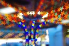 Bokeh de la estrella Fotografía de archivo