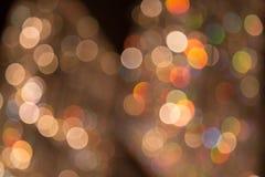 Bokeh de la luz Fotografía de archivo libre de regalías