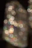 Bokeh de la luz en balanza del blanco del tungsteno Fotografía de archivo