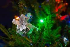 Bokeh de la Navidad Imagen de archivo libre de regalías